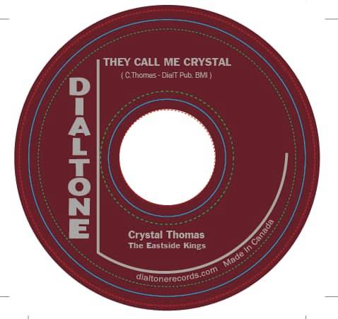 Crystal Thomas & the Eastside Kings - They Call Me Crystal/Woman Don't Lie (SGL)