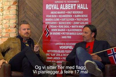 Royal Albert Hall-konserten promoteres i London