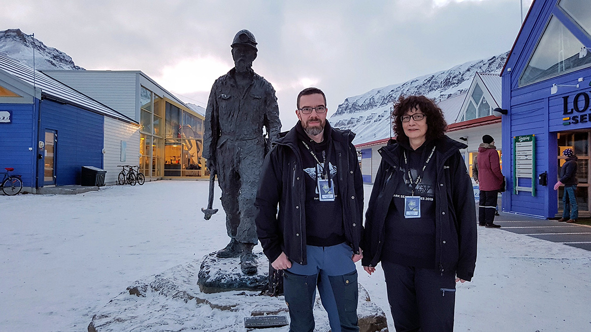 Årets bluesfest i isbjørnens rike er igang